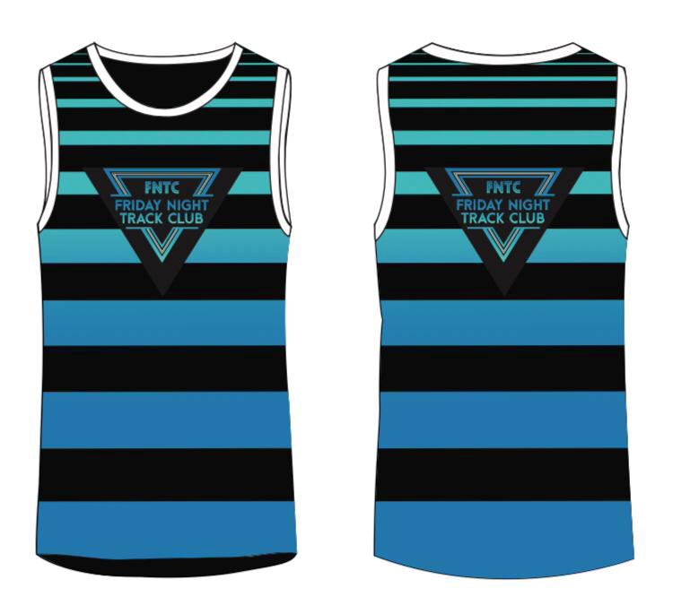 Friday Night Track Club Vest 2